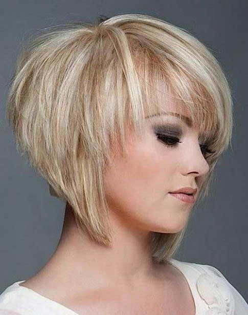 2020 Latest Short Layered Bob Hairstyles With Bangs Frisur Bob Stufig