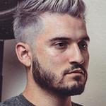 20 Best Short Men Haircut Looks Grey  Graue Haare Männer, Männer  – Männer Frisuren Kurz Blond
