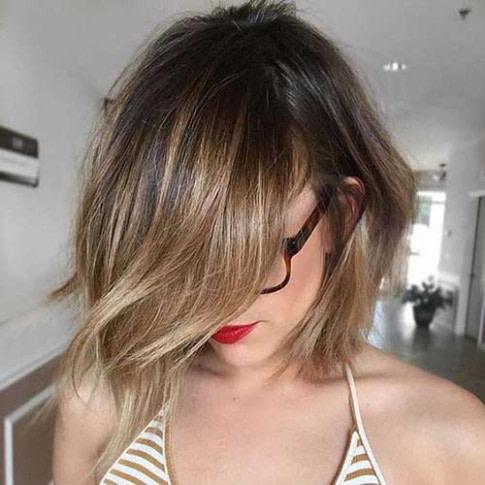 Chic Bob Frisuren für Dicke Haare - Neue Frisur Stil