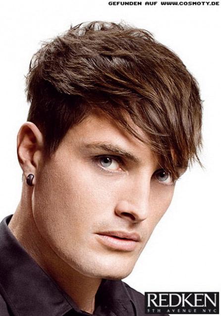 nach oben frisuren männer seiten kurz modell- - männer