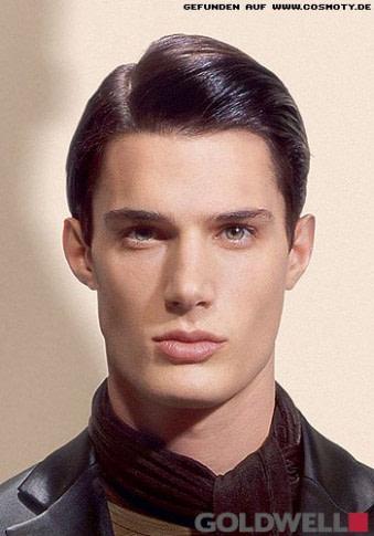 das beste Frisuren Bilder: Klassisch zur Seite gegelt - Frisuren, Haare - männer frisuren zopf undercut