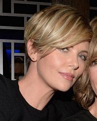 modern Frisuren blond kurz frech