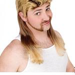 Vokuhila Herren Perücke Blond – Männer Frisuren Kurz Blond