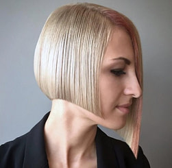 Bob Frisur Asymmetrisch Duenne Haare 3 - Allefrisuren.de
