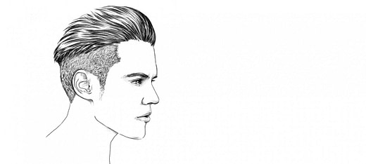schön Mittellange Haare richtig stylen  L'ORÉAL MEN EXPERT