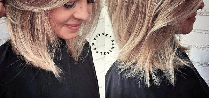 Frisuren Mittellang Rundes Gesicht Locken - Frisuren Schnell
