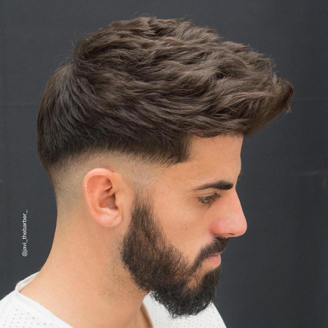 Nach oben Trend Frisuren 20: 20 Haarschnitte + Frisuren für Männer mit  - männer frisuren dickes haar