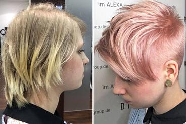 Schönheit Trendfrisuren 14 - Haarfarben, Haarschnitte und Stylings