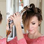 Deko Ideen: Kurze Haare Locken – Frisuren Mit Locken Für Frisuren Mit Glätteisen Kurze Haare
