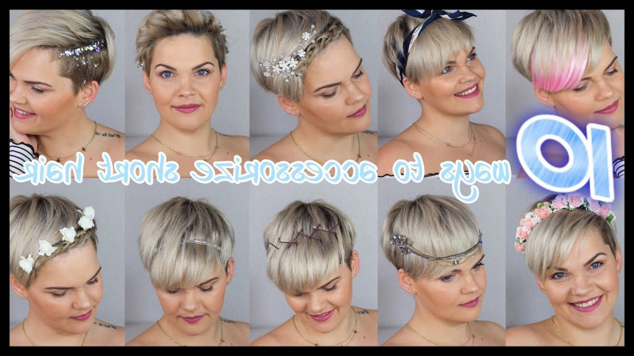 12 quick and easy hairstyles for short hair  PIXIECUT