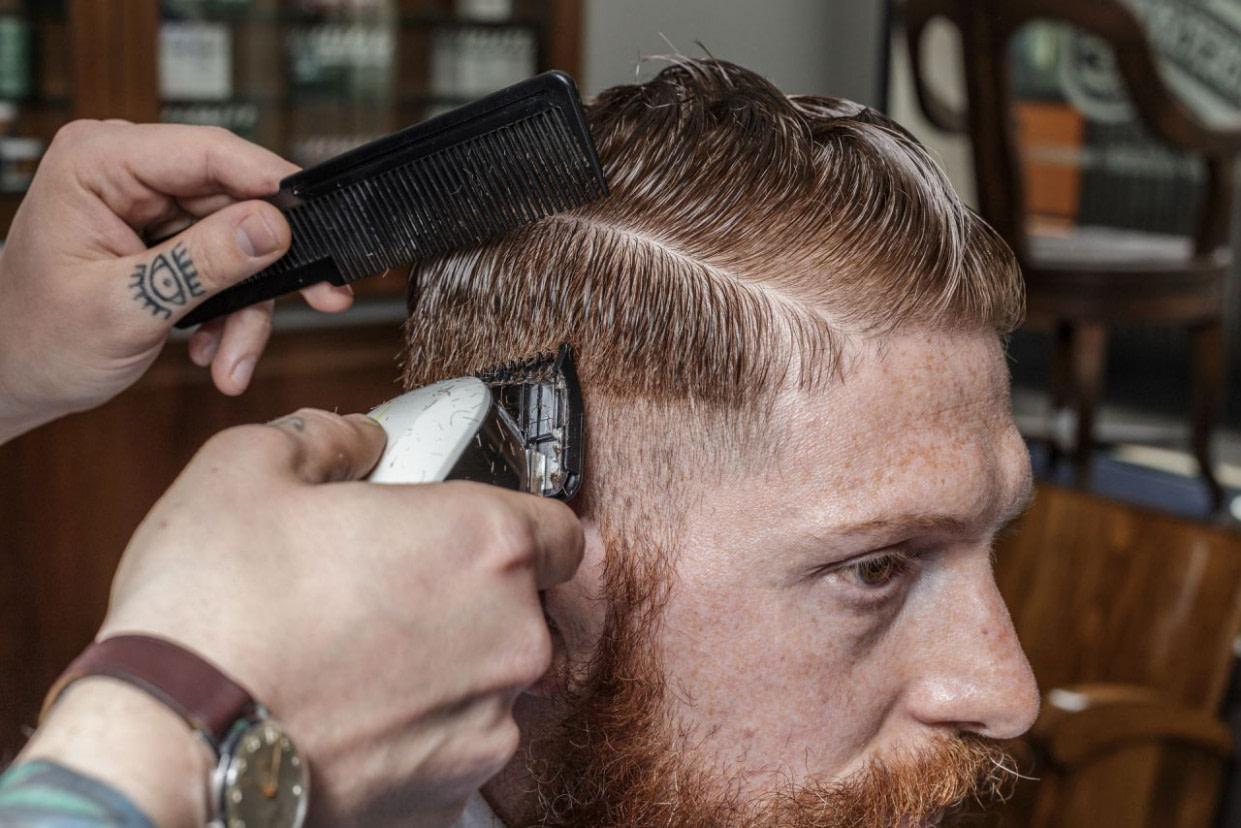 Executive Contour - Männer Scheitel Frisuren