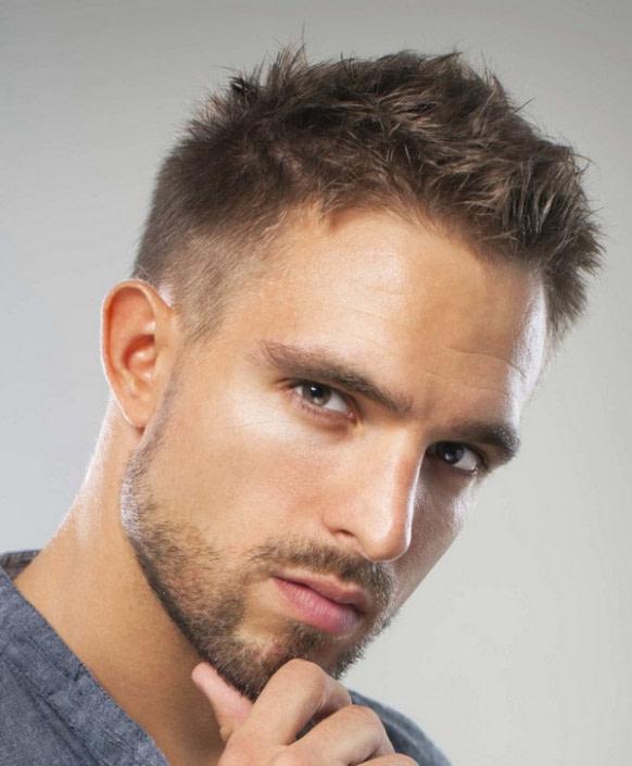 nach oben hohe stirn mann frisur bilder - männer frisuren