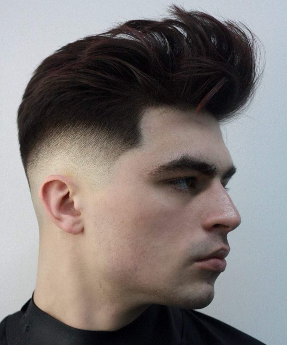 beste Frisuren für Männer und rundes Gesicht - Passende Beispiele und Tipps - männer frisuren dickes haar