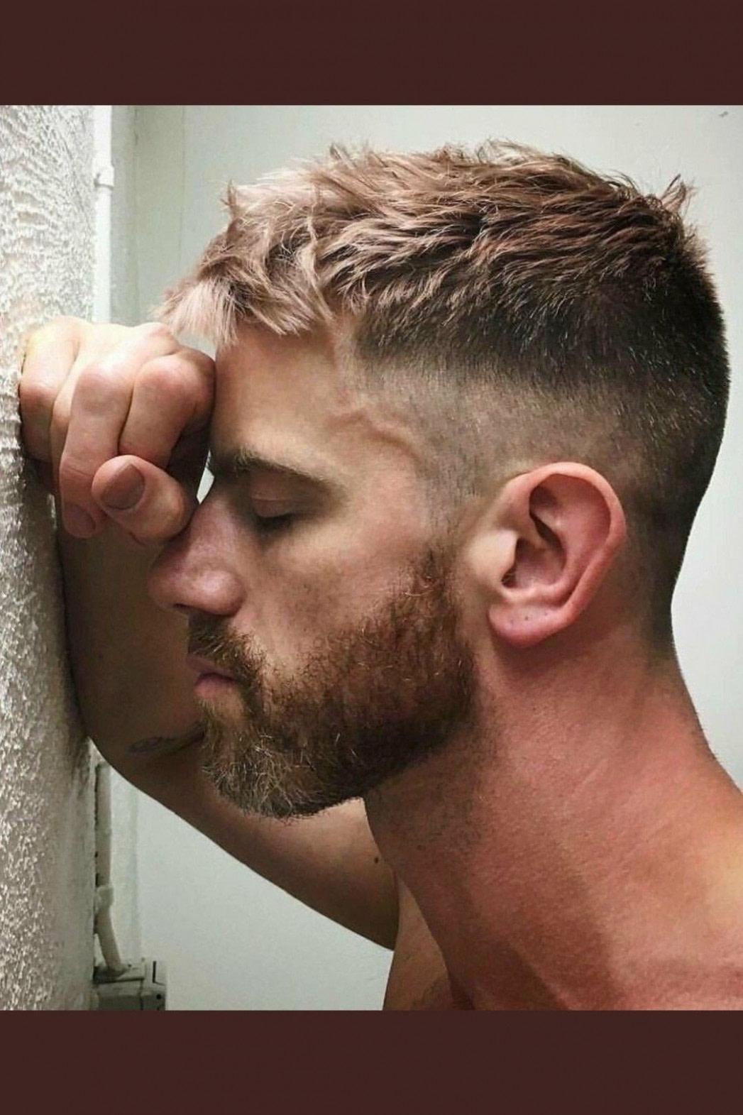 schönheit frisur ideen männer bilder - männer frisuren trend