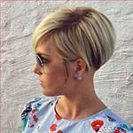 Kurzhaarfrisur Mit Undercut  Haarschnitt, Kurzhaarfrisuren  – Männer Frisuren Kurz Blond