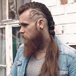 33 Ausgewählte Viking Frisuren Für Männer 2018: Lange  – Frisuren Mit Wenig Haaren Männer