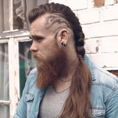 33 Ausgewählte Viking Frisuren Für Männer 2018: Lange  - Frisuren Mit Wenig Haaren Männer