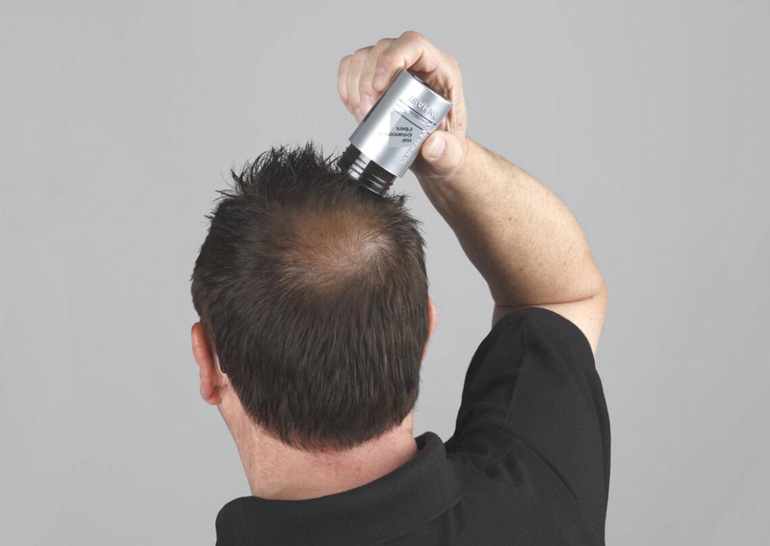 Nach oben Streuhaare im Alltag - die Belastungsprobe  Super Million Hair - frisuren männer lichtes haar
