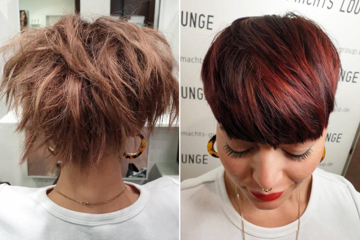 genial Trendfrisuren 18 - Haarfarben, Haarschnitte und Stylings - frisur hinterkopf mann