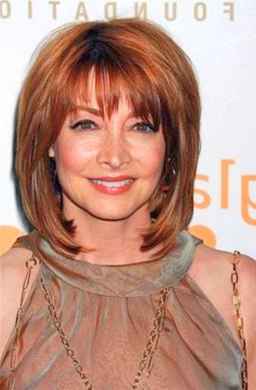 Stylish Medium Length Hairstyles for Women Over 50 - Elle