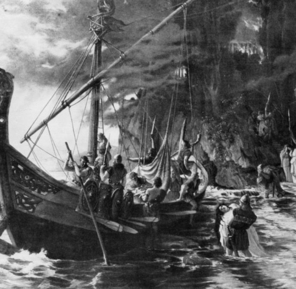 """Nach oben Vikings"""" auf TV: So brutal und gierig waren die Wikinger wirklich  - wikinger frisuren männer historisch"""