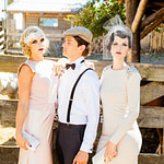 La Chia Accessoires  Great Gatsby Outfits, Urlaub Party  – 30er Jahre Frisur Männer