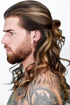 schön Wellige Männer Hairstyles