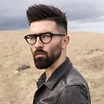 17 Herrenfrisuren Mit Brille, Um Cool Und Stylish Aussehen # Da  – Brillen Frisuren Männer