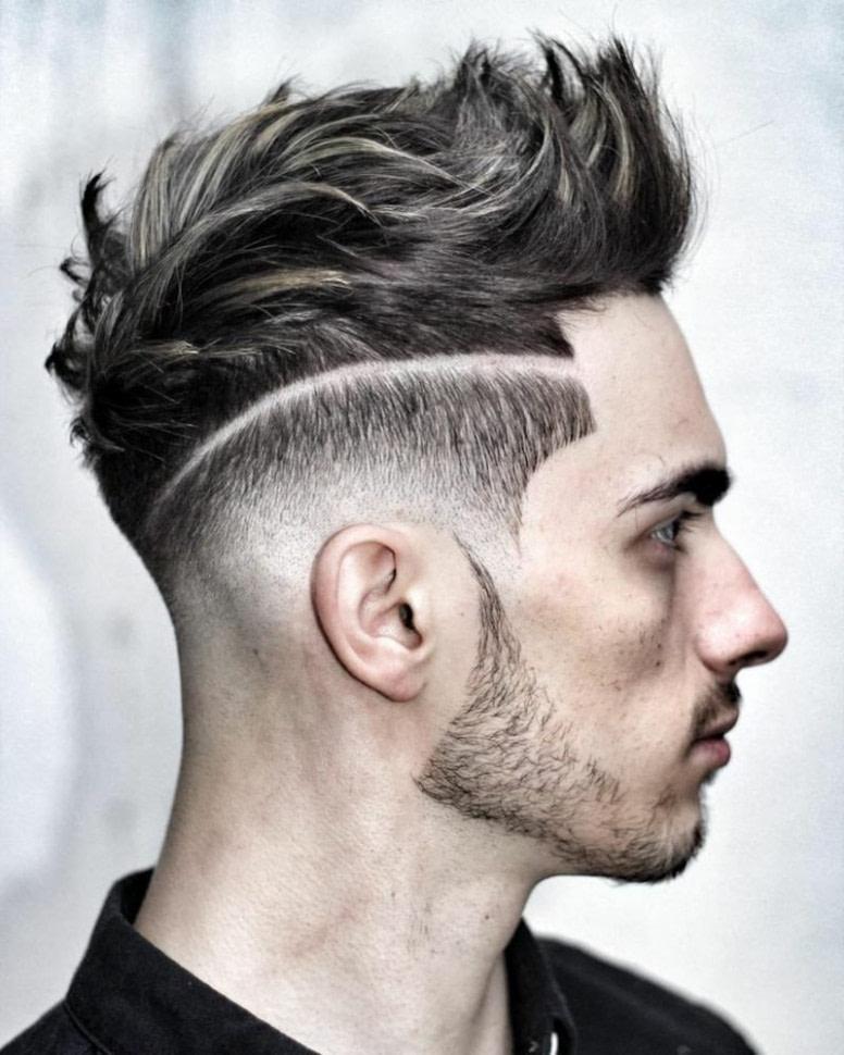 beste männer frisuren zopf undercut ideen