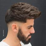 Trend Frisuren 20: 20 Haarschnitte + Frisuren Für Männer Mit  – Männer Frisuren Dickes Haar