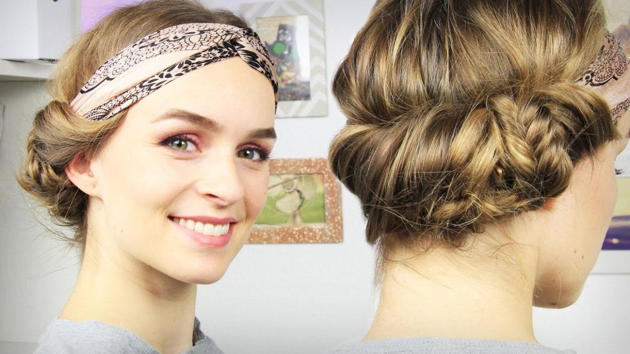 Frisuren Mit Haarband Lange Haare