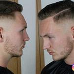 Hair Tutorial #17  Haare Schneiden Tutorial  NUYÄN – Männer Frisuren Scheitel Kurz