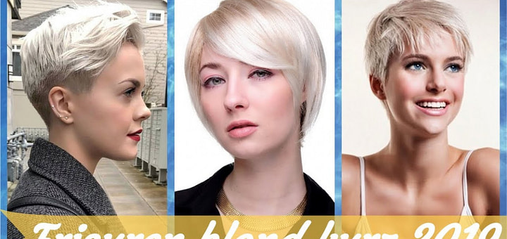 Die modische 12 Ideen zu kurze blonde frisuren 1219
