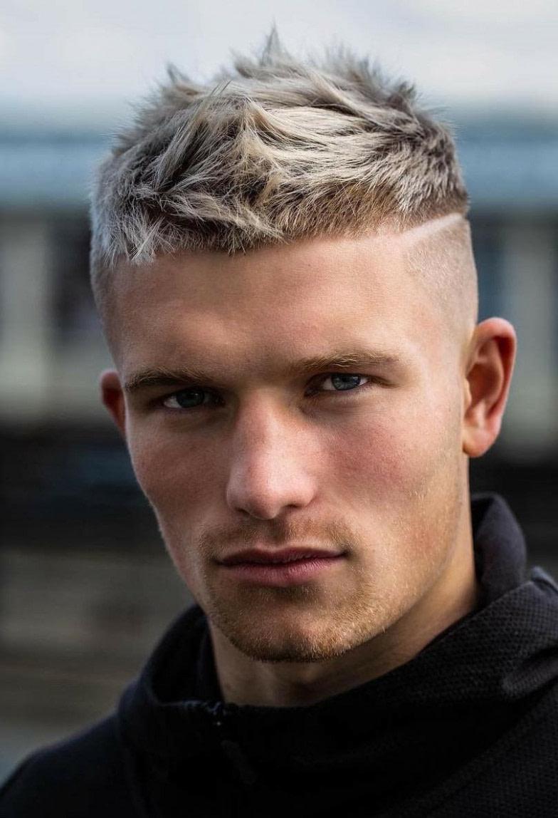 Pin Auf Für Basti - Männer Frisuren Kurz Blond