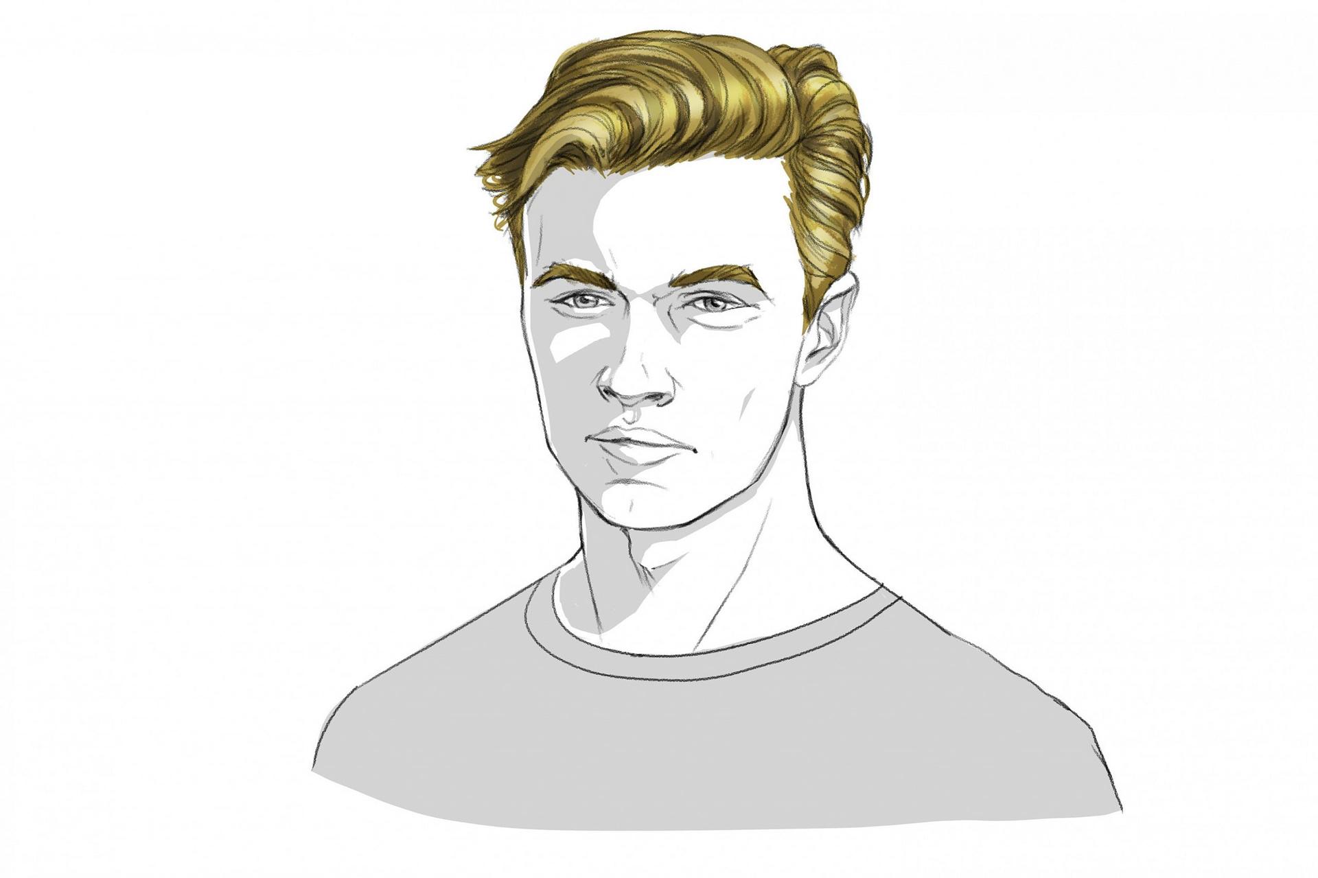 neu Zu welcher Gesichtsform passt welche Frisur am besten  GQ Germany - frisuren männer schmales gesicht