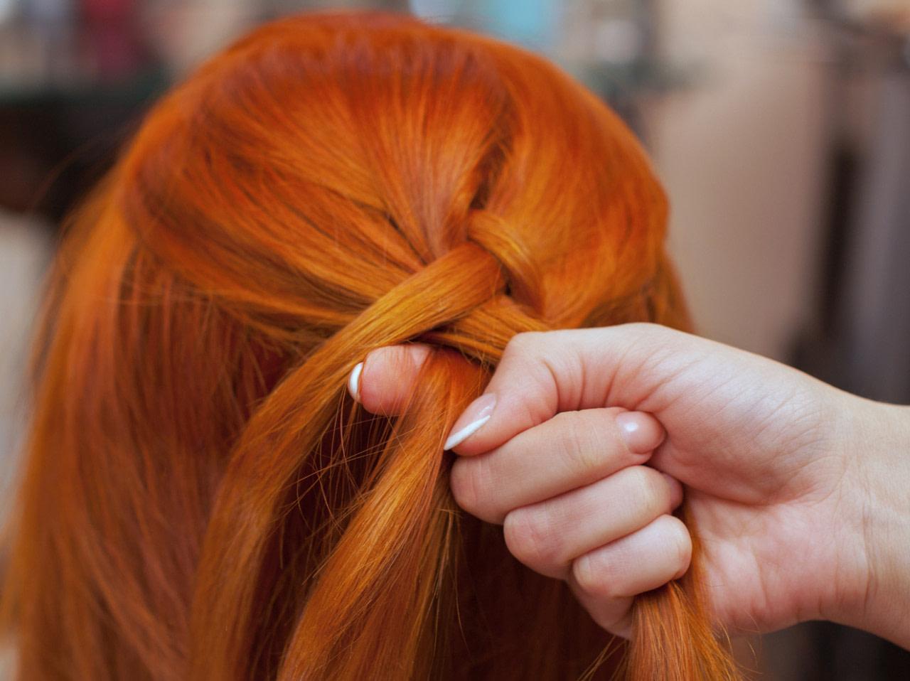 modern Flechtfrisuren für kurze Haare: 20 Frisuren mit Anleitung  Wunderweib - frisuren mittelalter männer