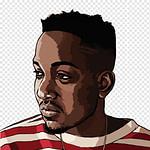 Kendrick Lamar T Shirt Rapper Hip Hop Musik, Snoop Dogg, Bart  – Hip Hop Frisuren Männer