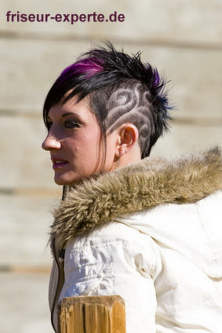 genial Frisur irokese frau - frisuren männer 50