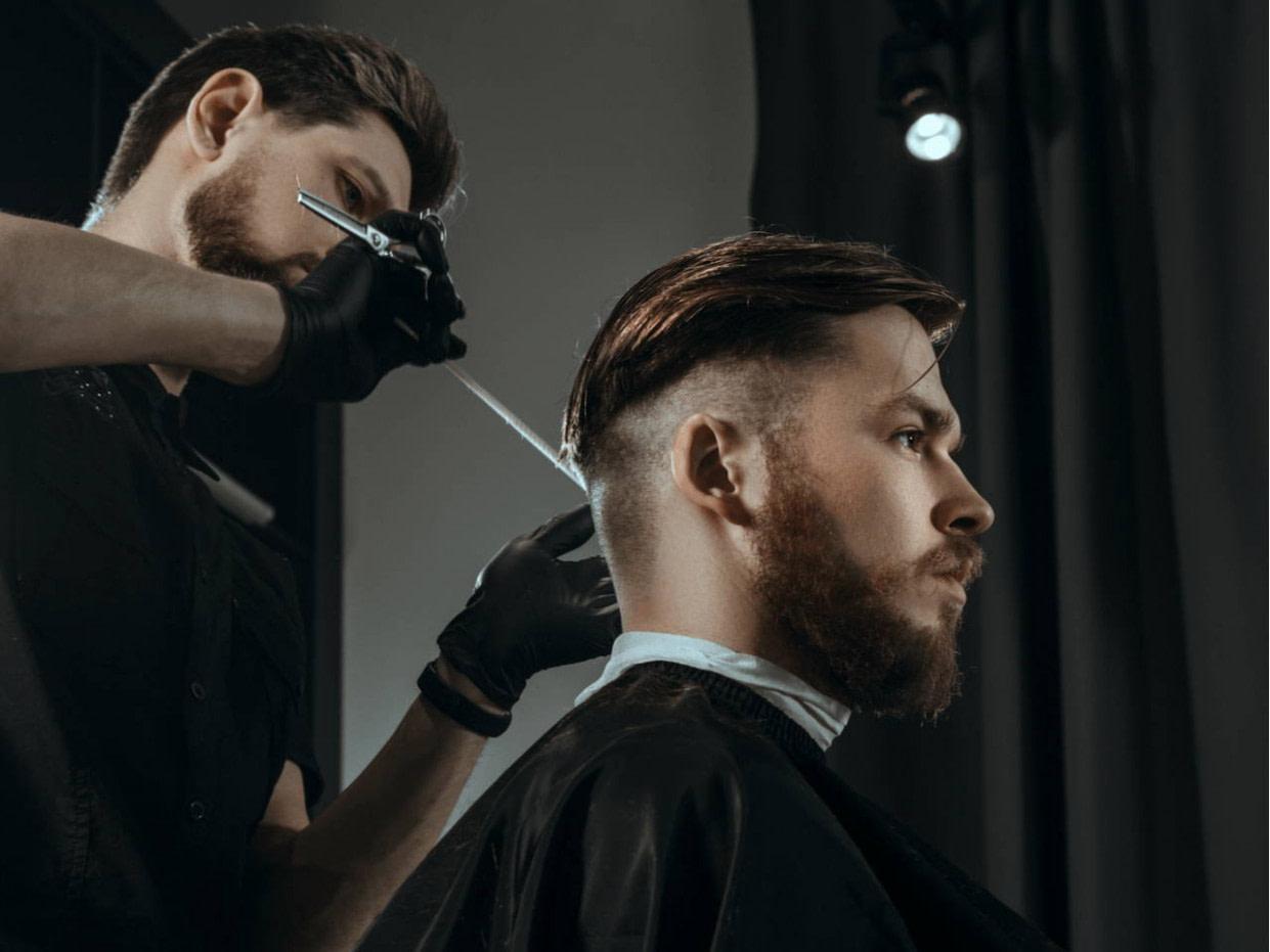 luxus männer frisur seiten kurz oben lang stil - männer