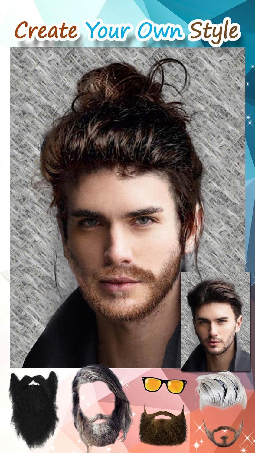 Schönheit Männer Frisuren 12 ???? Bart Style App Kostenlos für Android - APK