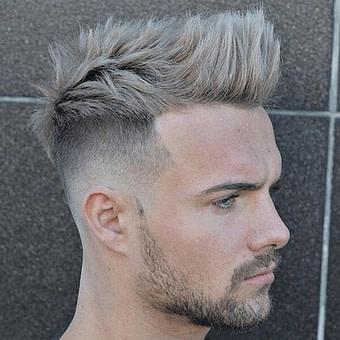 Nach oben Kurz Undercut Frisuren Männer Olaseku  Haarschnitt, Haarschnitt
