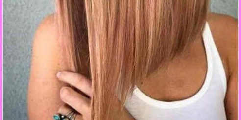 Mittellange Haare Long Bob Frisuren 2020 - Frisur