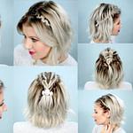 Schulterlange Haare Flechten: 12 Kinderleichte Anleitungen Für Bob Frisuren Flechten