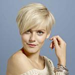 Blondes Haar Mit Kurzen Seiten Und Einem Kurzen, Angeschnittenem  – Männer Frisuren Kurz Blond