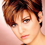 Kurze Frisuren Top Modische Kleider In 12 Frisur Kurz Rundes Frisuren Für Dickes Haar Und Rundes Gesicht