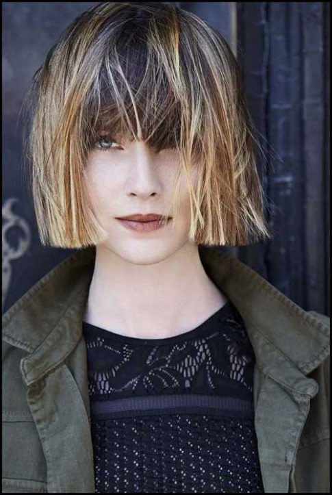 Blunt Bob Hairstyles with Bangs  Bob Hairstyles 2018
