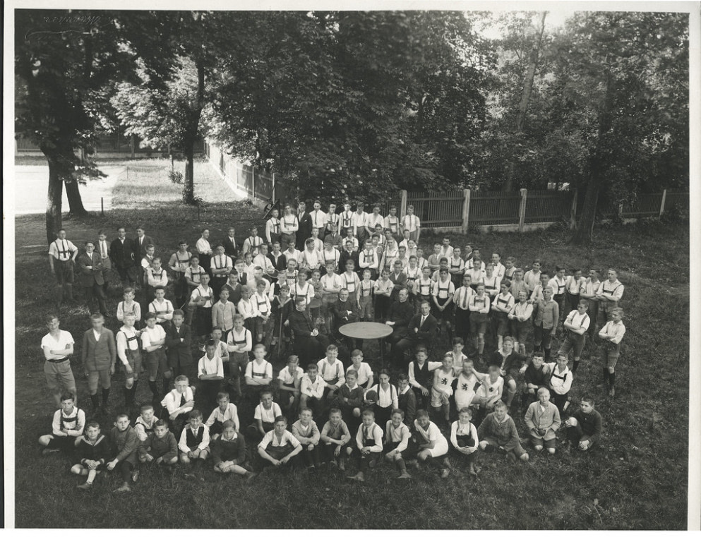Nach oben Archiv B911 Sportjugend, München, frühe 1930er - mode frisuren männer