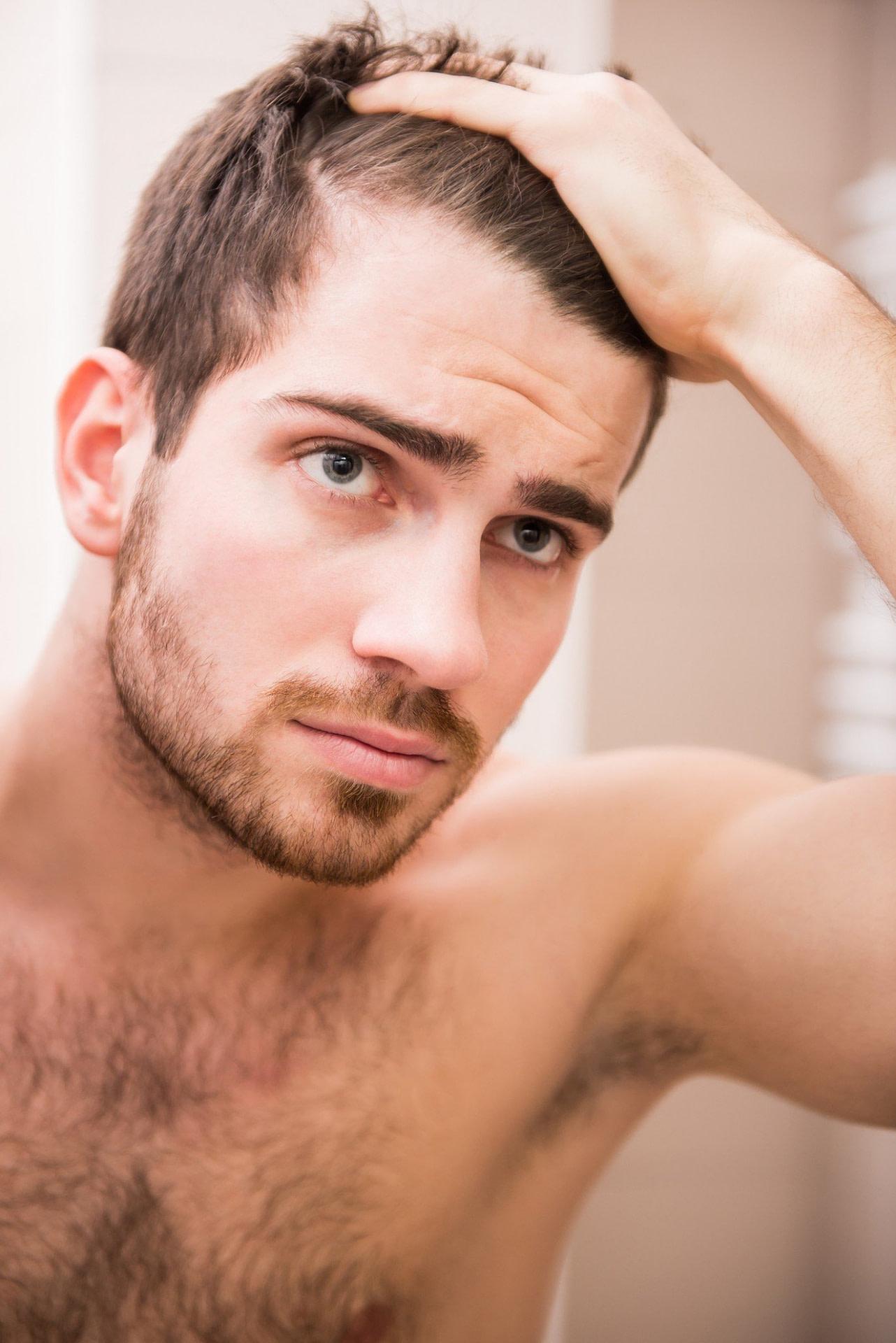 Nach Oben Coole Frisuren Graue Haare Männer Ideen - Männer