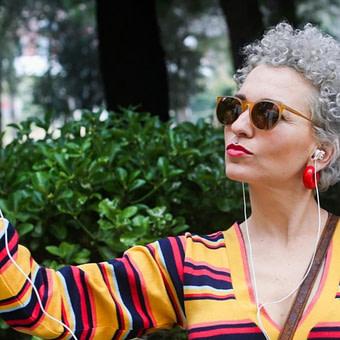 das beste Inspiriert von Reeves-Freundin: Wenn Frauen zu grauen Haaren