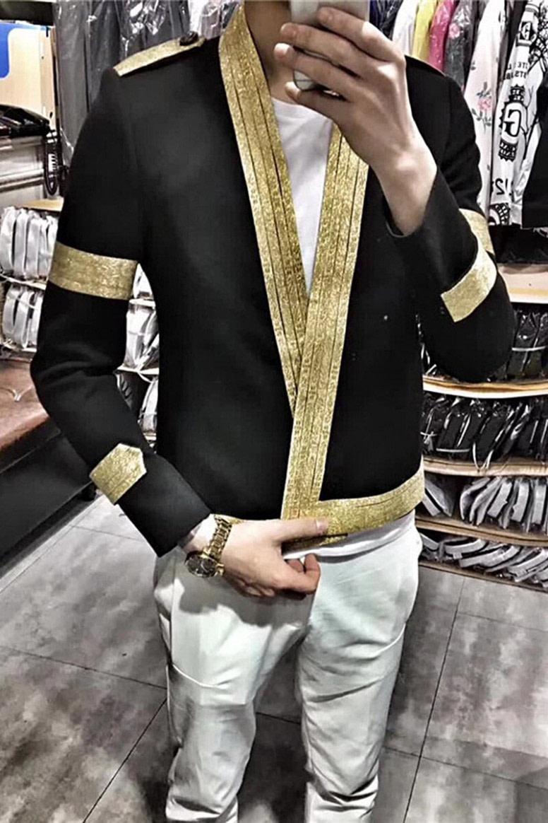 das beste Männer Anzug Mantel Männlichen Trend Hip-hop Blazer Mann der Anzug Herbst  Nacht Frisur Division Persönlichkeit Lose Mantel Jacke flut - hip hop frisuren männer